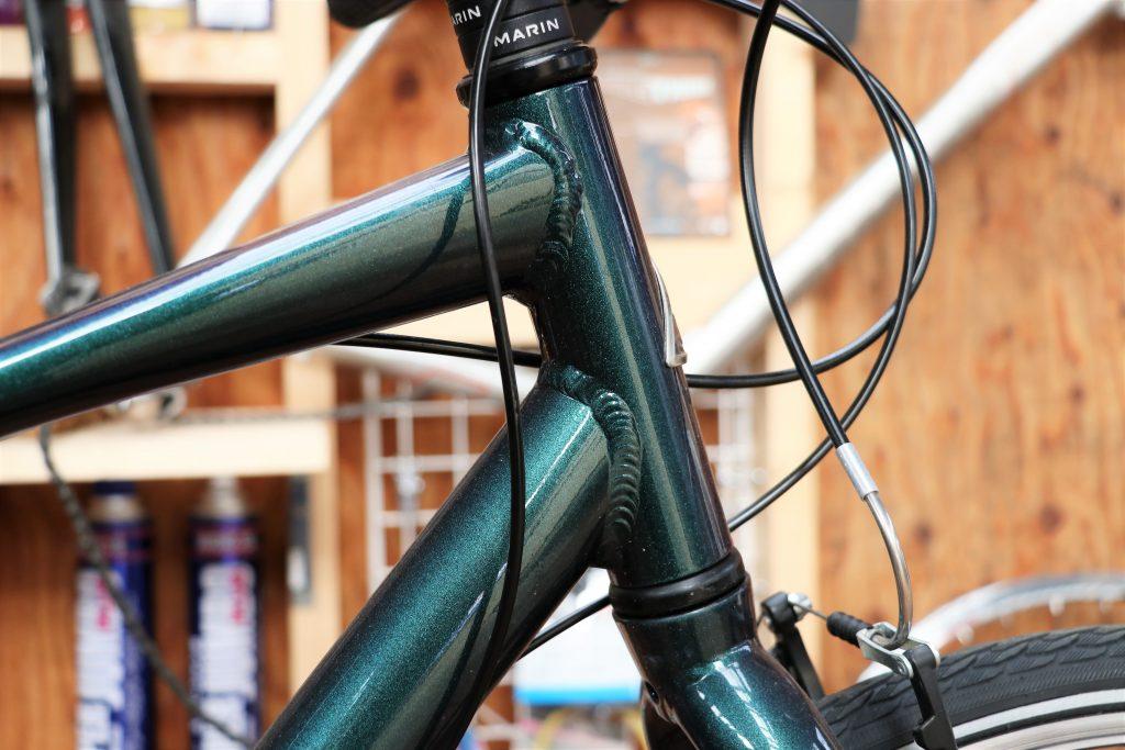 街乗りの定番クロスバイク!MARINの30周年記念カラーモデル【MARIN CORTE MADERA】ヘッドチューブ