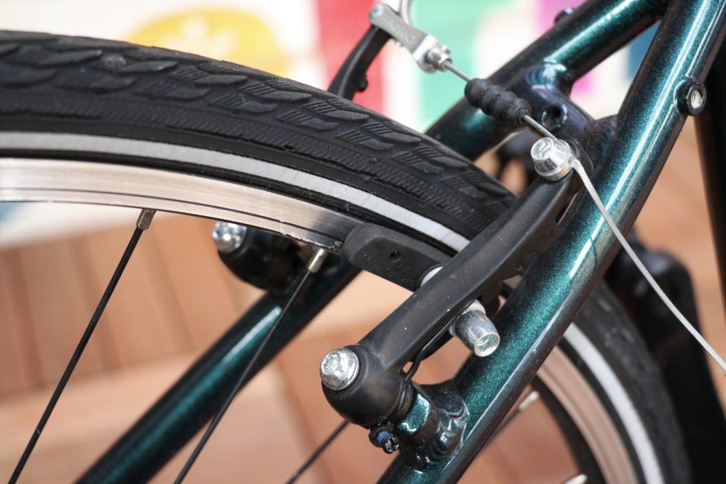 街乗りの定番クロスバイク!MARINの30周年記念カラーモデル【MARIN CORTE MADERA】ブレーキ