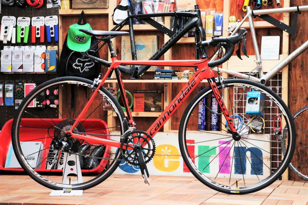 カーボンキラーと名高いロードバイクを買取させて頂きました!「CANNONDALE/キャノンデール CAAD12 ULTEGRA3」【ロードバイク  買取情報】