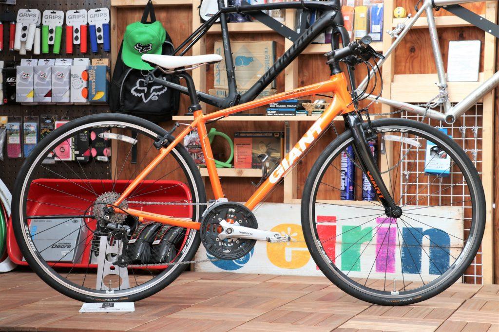 大人気定番クロスバイクの上位グレードモデルを買い取り致しました!!「GIANT/ジャイアント ESCAPE RX2」【クロスバイク 買取情報】